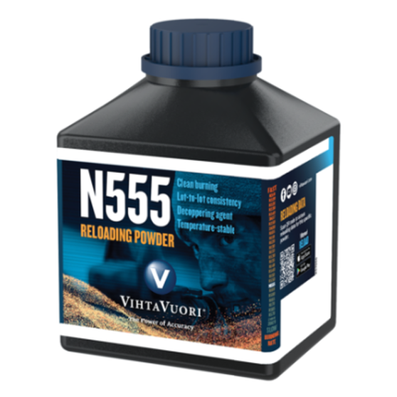 VIHTAVUORI N555 – THE ULTIMATE RELOADING POWDER FOR 6.5 CREEDMOOR