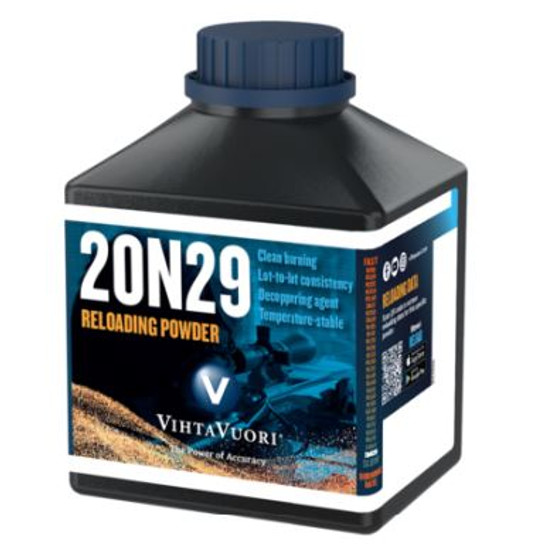 20N29 RIFLE POWDER FOR .50 BROWNING CASES