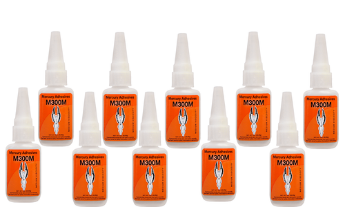 M300M Mercury Medium Ca Glue 2 oz  - 10 pk