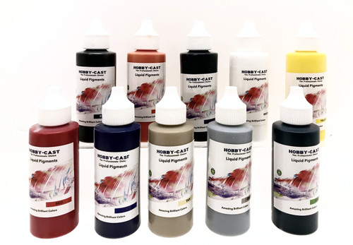 Hobby-Cast Full Set Liquid Pigments