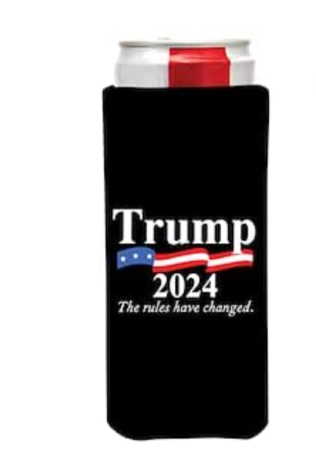 Trump 2024 Black Can Coolie