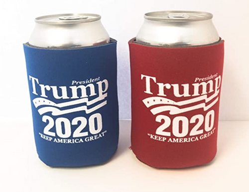 Trump 2020 Nostalgia  Can Coolie (Red and Blue)