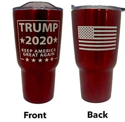 Trump 30 oz Double Walled Tumbler Red