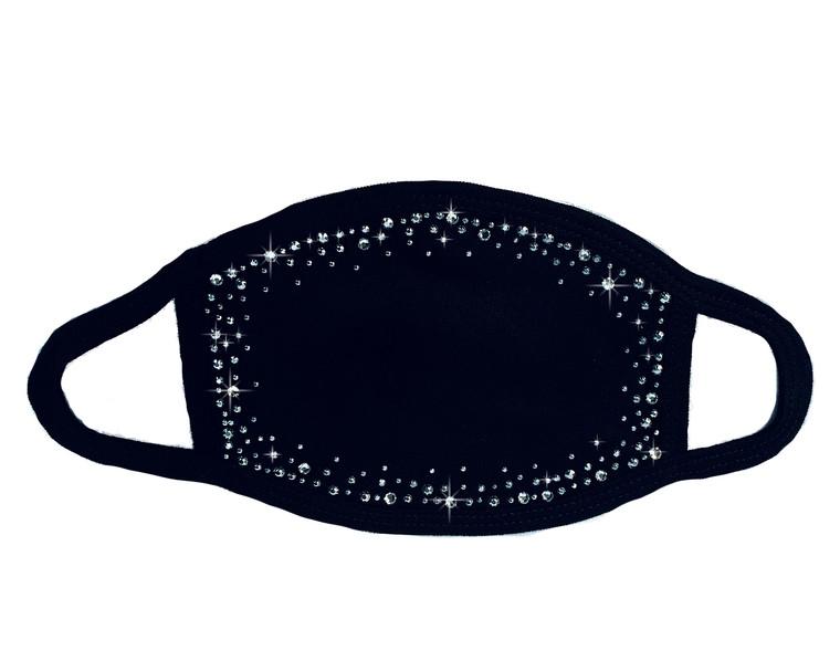 Crystal Scattered Trim Mask (Swarovski)