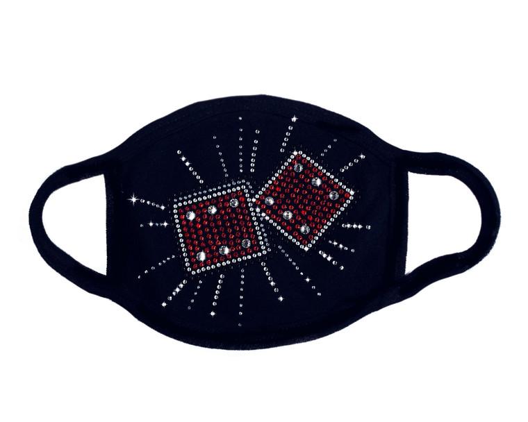 Dice Mask (Swarovski)