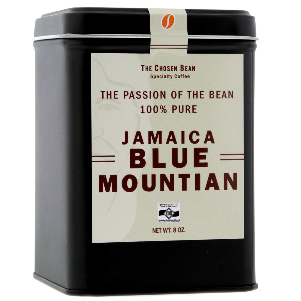 100% Jamaica Blue Mountain 8 oz Gift Tin