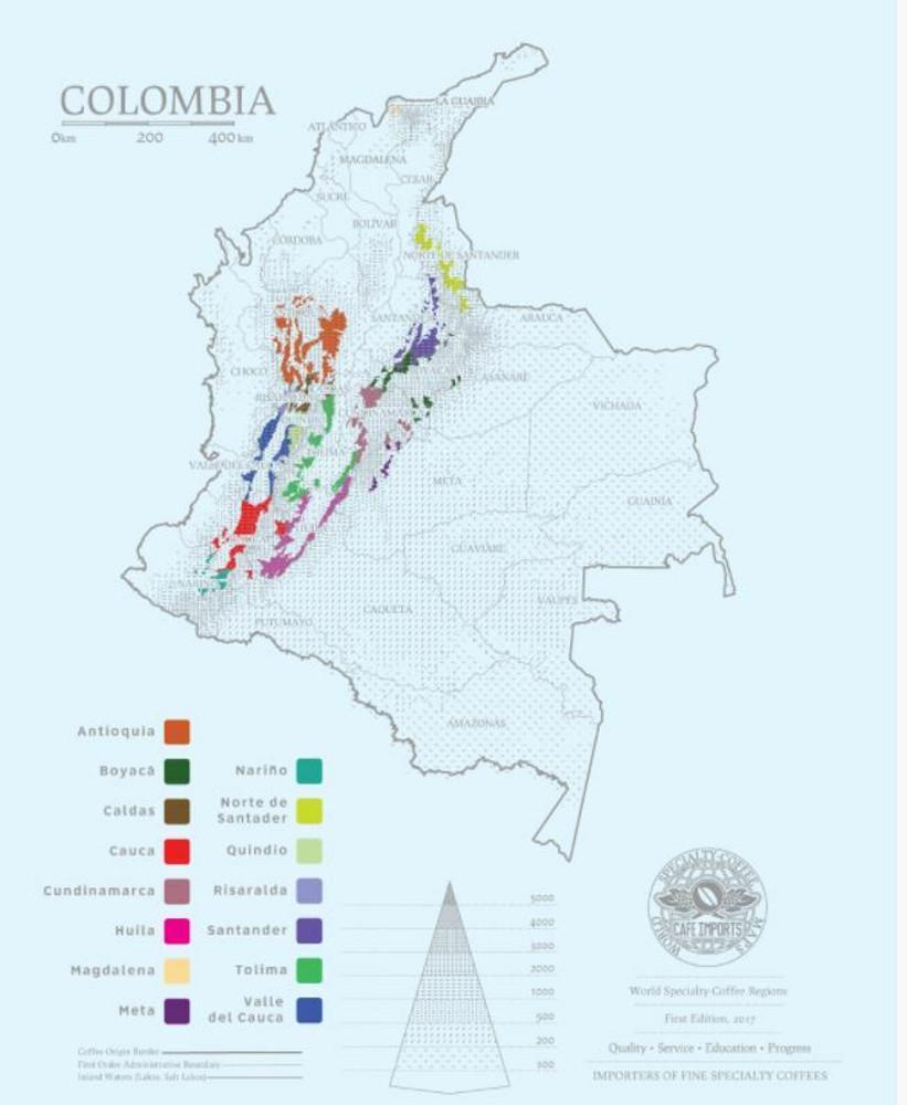Colombia Jairo Bomba - Caldono - Cauca - Castillo - Honey