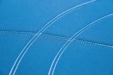 Getaway Neoprene Aqua  - Silver Stitch