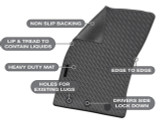 Toyota Camry Precision Fit Mats 12/2011 - 10/2017