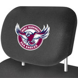 Manly Sea Eagles NRL Car Headrest Covers