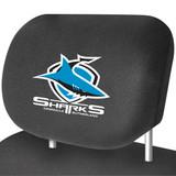 Cronulla Sharks NRL Car Headrest Covers