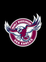 Manly Sea Eagles NRL Steering Wheel And Seat Belt Comforts