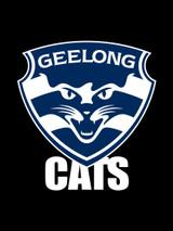 Geelong AFL Steering Wheel And Seat Belt Comforts