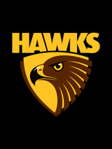 Hawthorn Hawks AFL Steering Wheel And Seat Belt Comforts