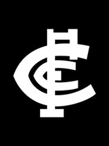 Carlton AFL Car Number Plate Frame