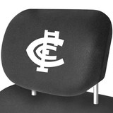 Carlton AFL Car Headrest Covers