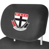 St Kilda AFL Car Headrest Covers