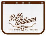 R.M.Williams Mud Flaps for Truck - White