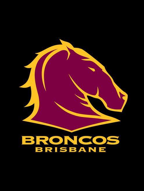 Brisbane Broncos NRL Steering Wheel And Seat Belt Comforts