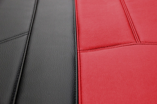 Empire Leather Look - Red