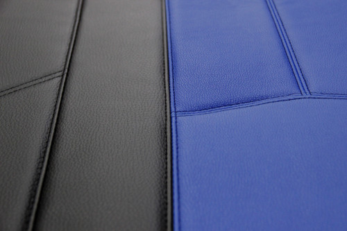 Empire Leather Look - Blue