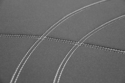 Getaway Neoprene Grey - Silver Stitch