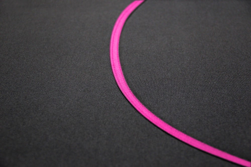 Kakadu Canvas Black with Pink Binding