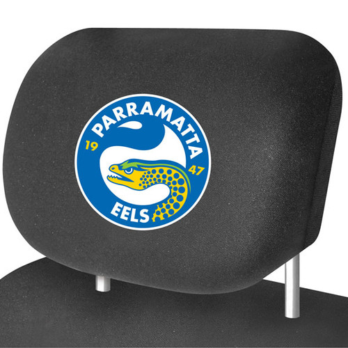 Parramatta Eels NRL Car Headrest Covers