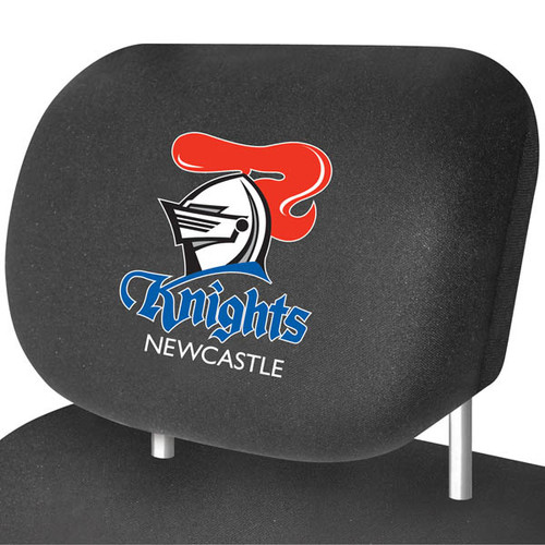 Newcastle Knights NRL Car Headrest Covers