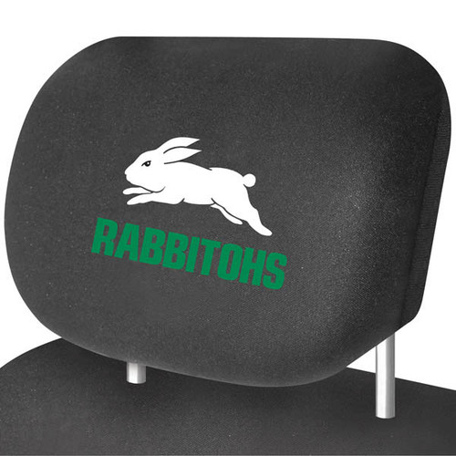 South Sydney Rabbitohs NRL Car Headrest Covers