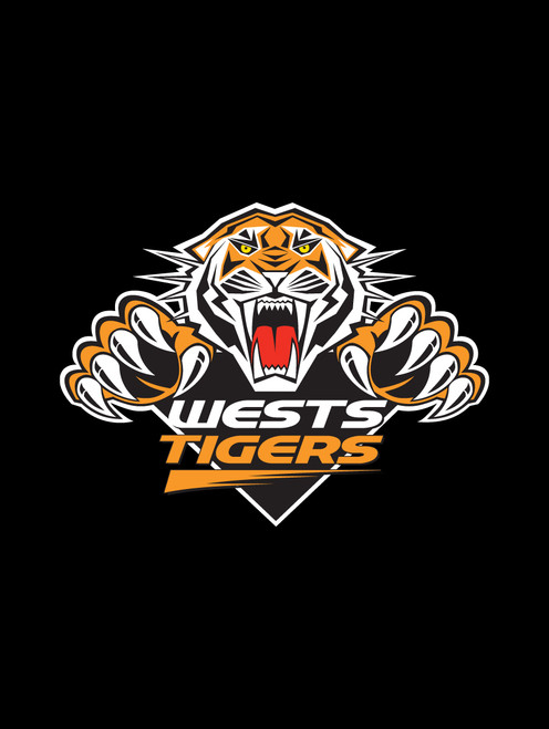 West Tigers NRL Car Headrest Covers