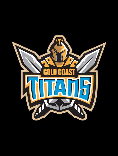 Gold Coast Titans NRL Car Headrest Covers