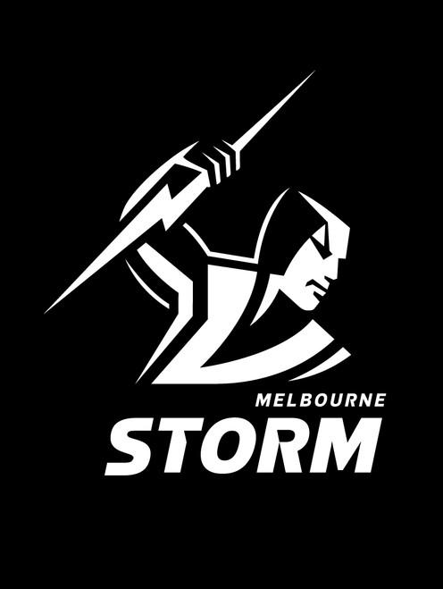 Melbourne Storm NRL Steering Wheel And Seat Belt Comforts