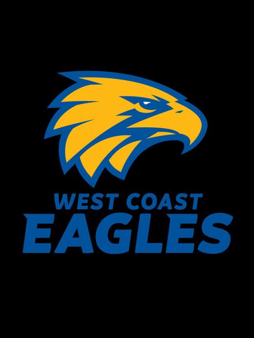 West Coast Eagles AFL Steering Wheel And Seat Belt Comforts