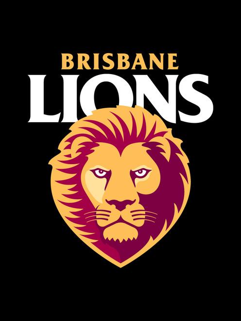 Brisbane Lions AFL Steering Wheel And Seat Belt Comforts