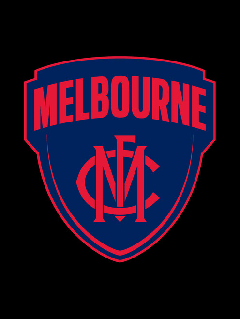 Melbourne AFL Steering Wheel And Seat Belt Comforts