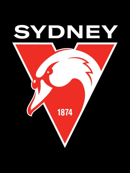Sydney Swans AFL Steering Wheel And Seat Belt Comforts
