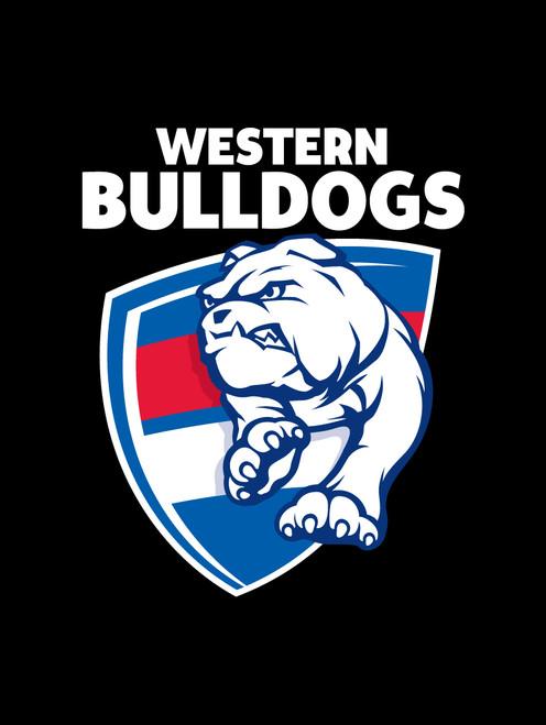Western Bulldogs AFL Car Number Plate Frame