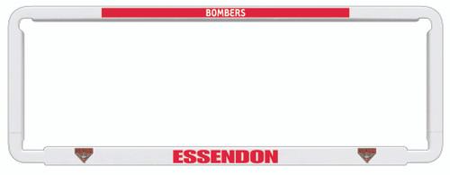 Essendon AFL Car Number Plate Frame