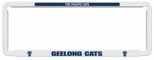Geelong AFL Car Number Plate Frame