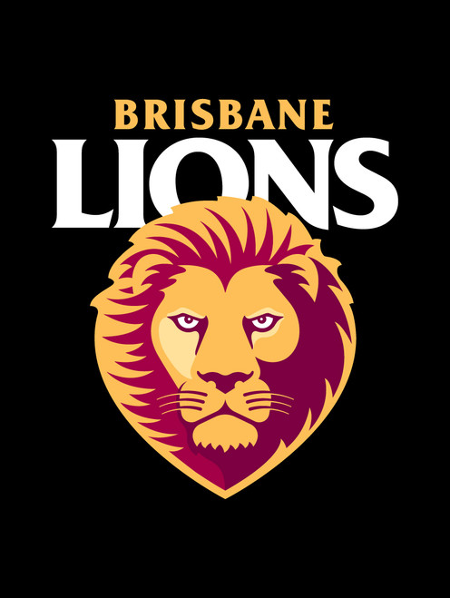 Brisbane Lions AFL Car Number Plate Frame