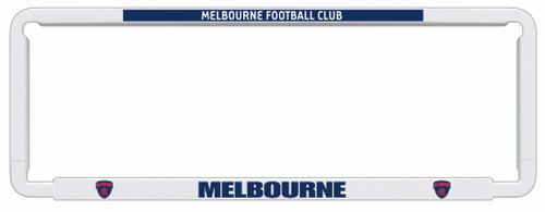 Melbourne AFL Car Number Plate Frames