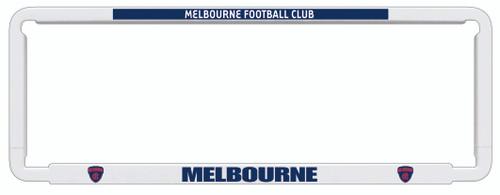 Melbourne AFL Car Number Plate Frame