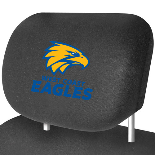 West Coast Eagles AFL Car Headrest Covers