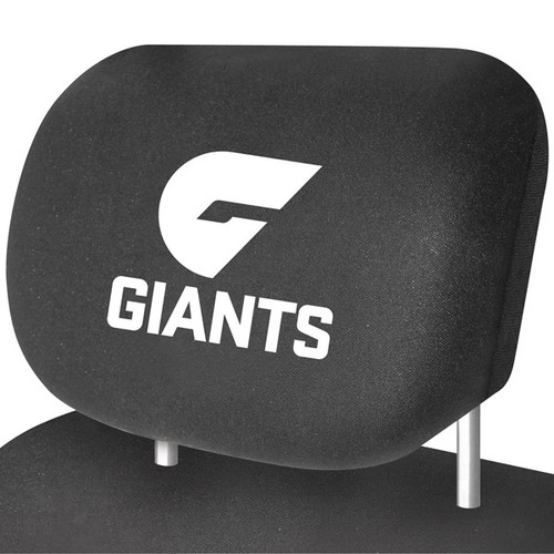 Greater Western Sydney AFL Car Headrest Covers