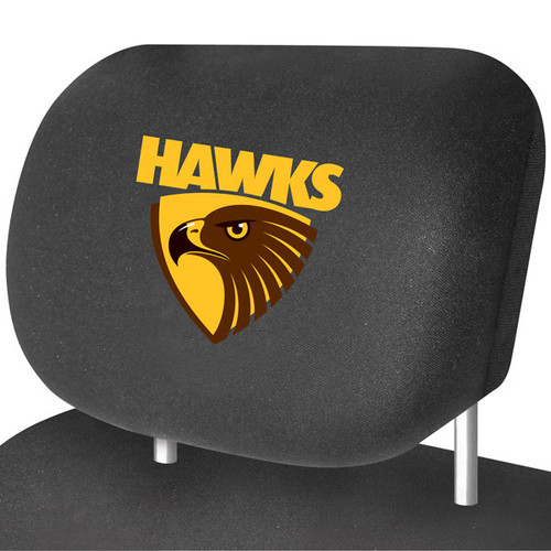 Hawthorn Hawks AFL Car Headrest Covers