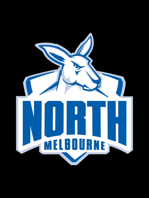 North Melbourne AFL Car Headrest Covers