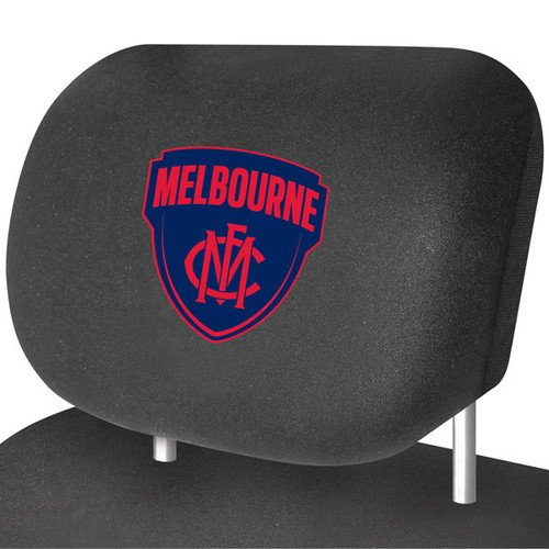 Melbourne AFL Car Headrest Covers