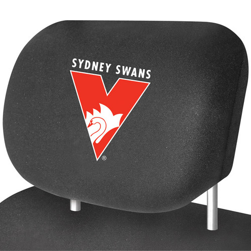 Sydney Swans AFL Car Headrest Covers
