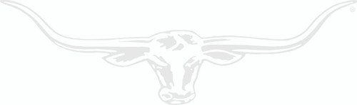 R.M.Williams Longhorn Car Sticker Decal 70cm White